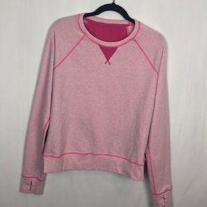 LULULEMON Pink pullover sweatshirt